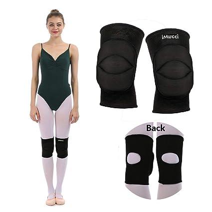 b9e4c69115 iMucci Professional Ballet 2CM Thick Sponge Kneecap Protective Knee Pads  Anti-slip Collision Avoidance Prayer