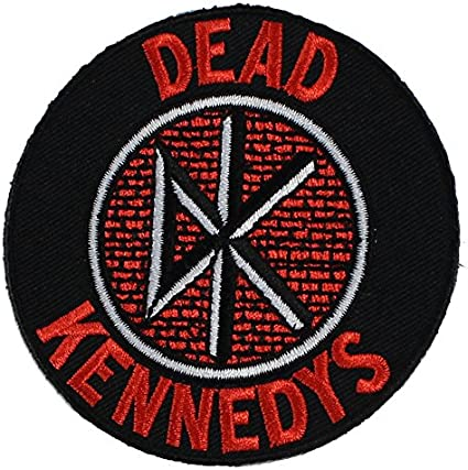 C/&D Visionary P-0485 Dead Kennedys Logo Patch