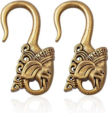 Amazon.com: LIZD - Clavija para colgar peso de oreja de ...
