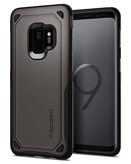 factory authentic 67b48 b9761 Spigen Hybrid Armor Designed for Apple Samsung Galaxy S9 Case (2018) -  Gunmetal