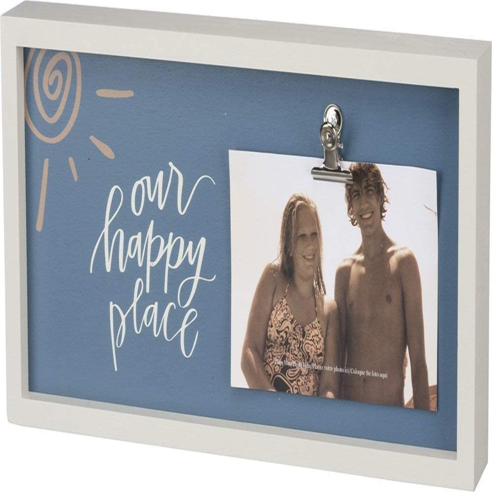 Primitives by Kathy Inset Box Sign This Is My Happy Place