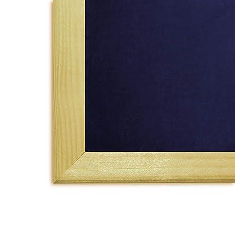 Creative Deco 80 x 60 cm Grande Tablero Pizarra Negro de ...