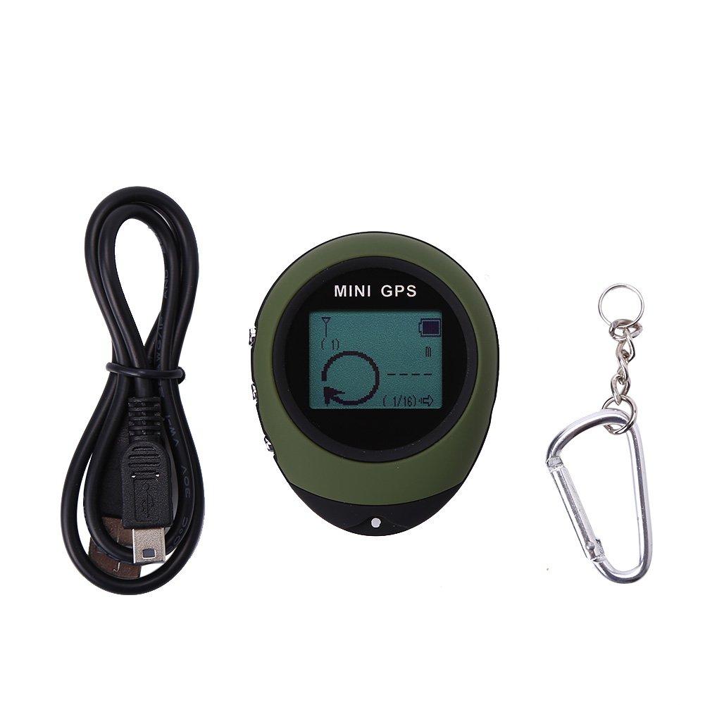 Mini GPS Imperméable à l'Eau Tracker Localisateur GPS Navigateur Portable pour Randonnée Camping Chasse Aventures Extérieures VGEBY 4332816825