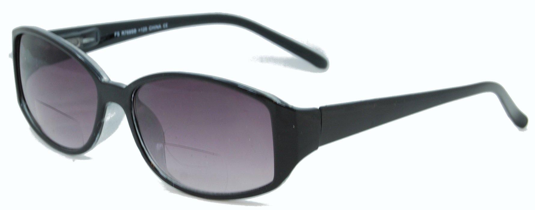 In Style Eyes Stylish Bifocal Sunglasses Black 2.50