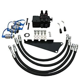 Amazon com: Dual Hydraulic Remote Valve Kit for Massey