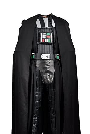 Star Wars Darth Vader Top Pants Cape Cosplay Costume