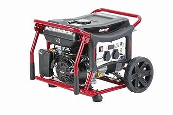 Gruppo elettrogeno powermate wx generatore corrente con ruote