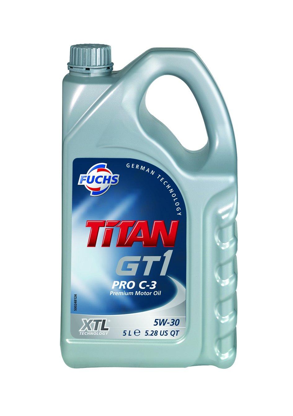 Fuchs 601236495 TITAN GT1 PRO C-3 5W30 XTL 5L