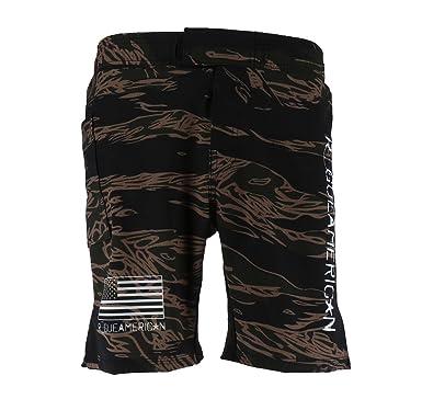 93853e5dcf Rogue American Jungle Tiger Stripe Men's Shorts, Color Jungle Tiger Stripe, Size  30