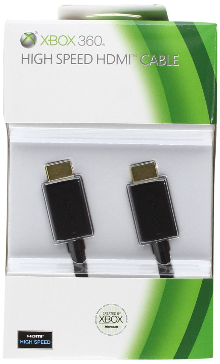 Official Xbox 360 HDMI Cable (Xbox 360): Amazon.co.uk: PC & Video Games