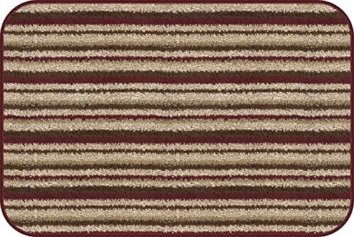 Dirt Stopper, 20 by 30-Inch, Wine Stripe