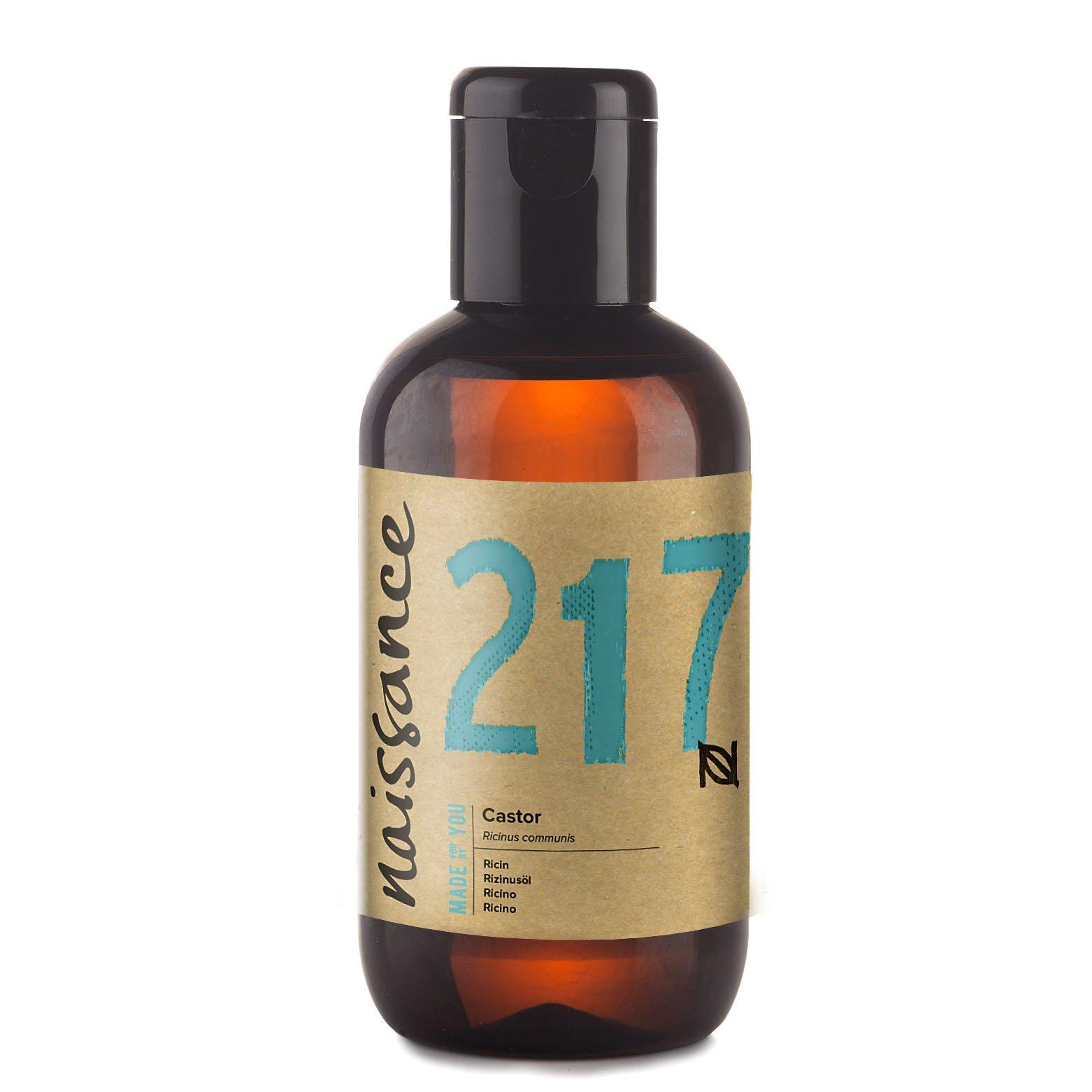 Naissance Aceite de Ricino 100ml - Puro, natural, vegano, sin hexano, no