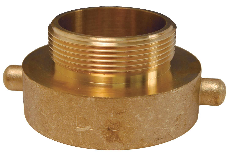 Cast Brass Dixon HA25S10T 2-1//2 FNPSH x 1 MNPT P//L Adapter 2.5 ID