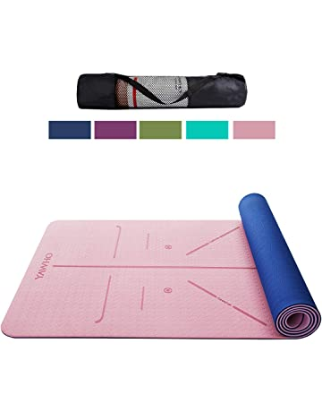 67e5d9535 YAWHO Yoga Mat Eco Friendly Material SGS Certified Ingredients TPE  Specifications 183 cm X 66 cm