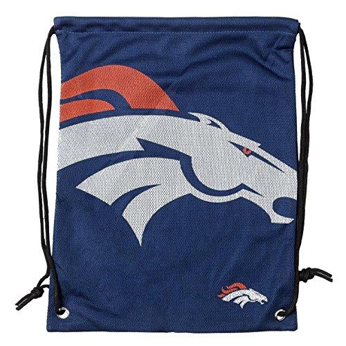 Forever Collectibles NFL Denver Broncos 2015 Jersey Drawstring Backpack, Blue