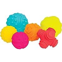 Práctico juego de 6 piezas blandas en colores
