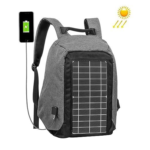 WishY Solar Mochilas con 10w Incorporado Paneles Solares ...