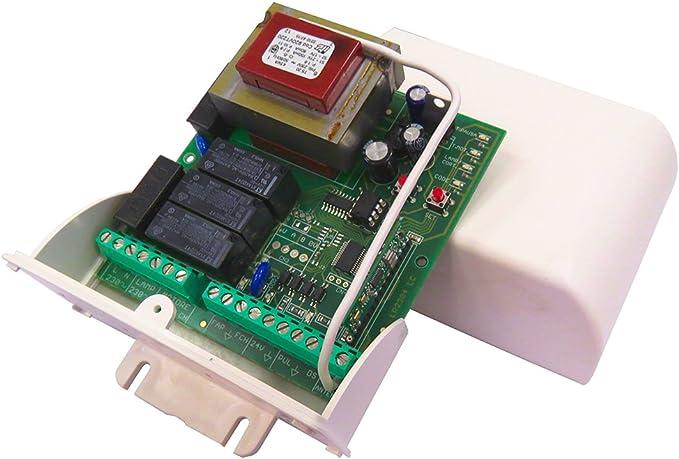 Seav LRS 2060 New centralita electrónica para persianas enrollables y Puertas basculantes: Amazon.es: Electrónica