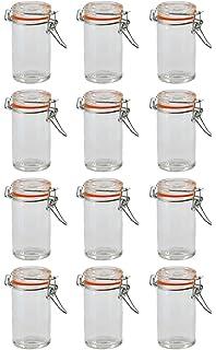Mini Einmachglas mit Bügelverschluss 12er Set: Amazon.de: Spielzeug