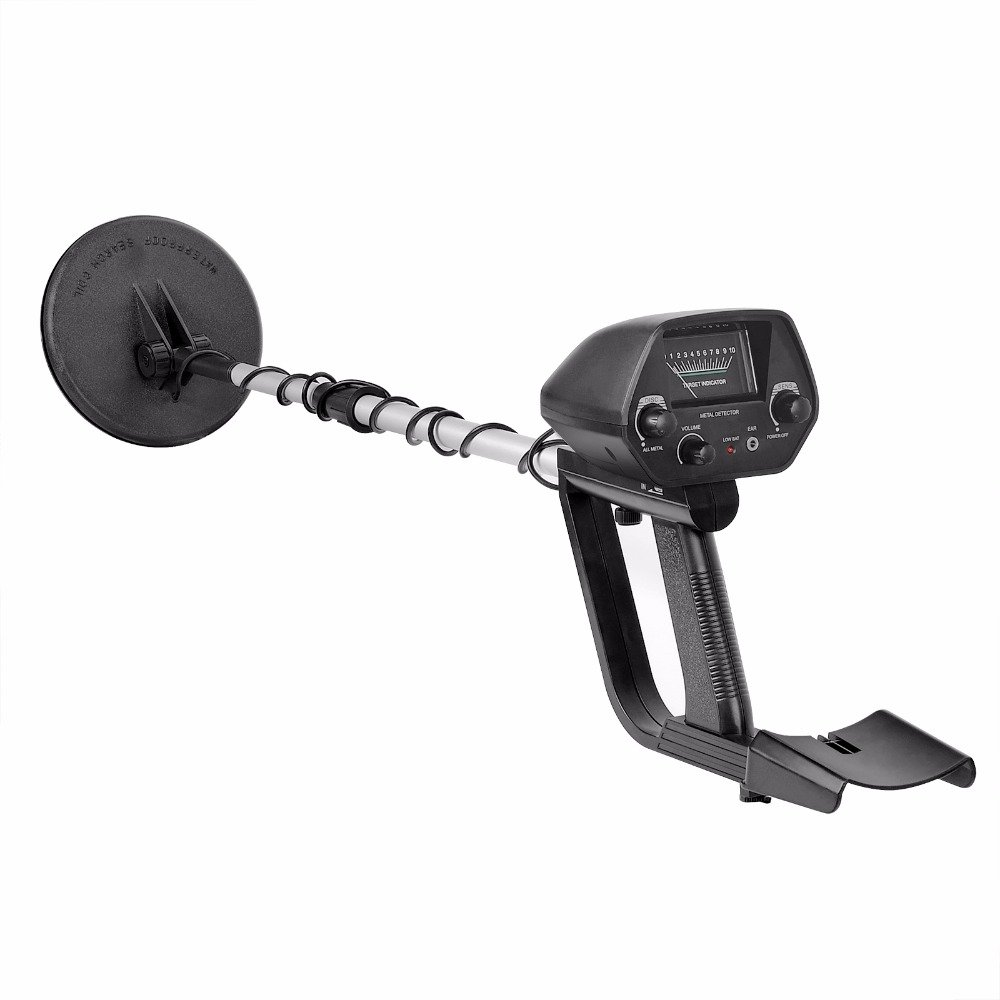 HHAO Metal Detector-Professional Adjustable Metal Finder Lightweight Gold Digger Waterproof Search Coil by HHAO