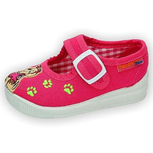 MORANCHEL 14748 Zapatillas DE Lona NIÑA Zapatillas Fuxia 24: Amazon.es: Zapatos y complementos
