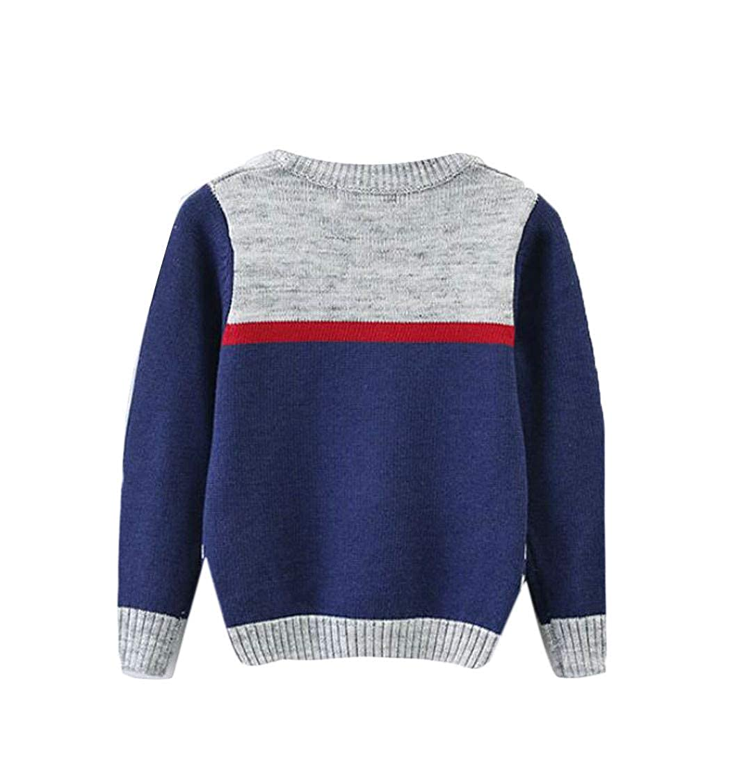 Pandapang Boys Slim Fit Jumper Knitted Cute Pullover Girl Sweaters