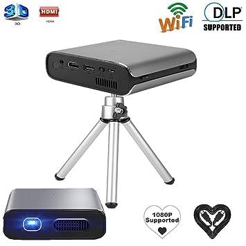 Fishlor Proyector LED, Mini proyector RD-630 DLP HD LED Proyector ...