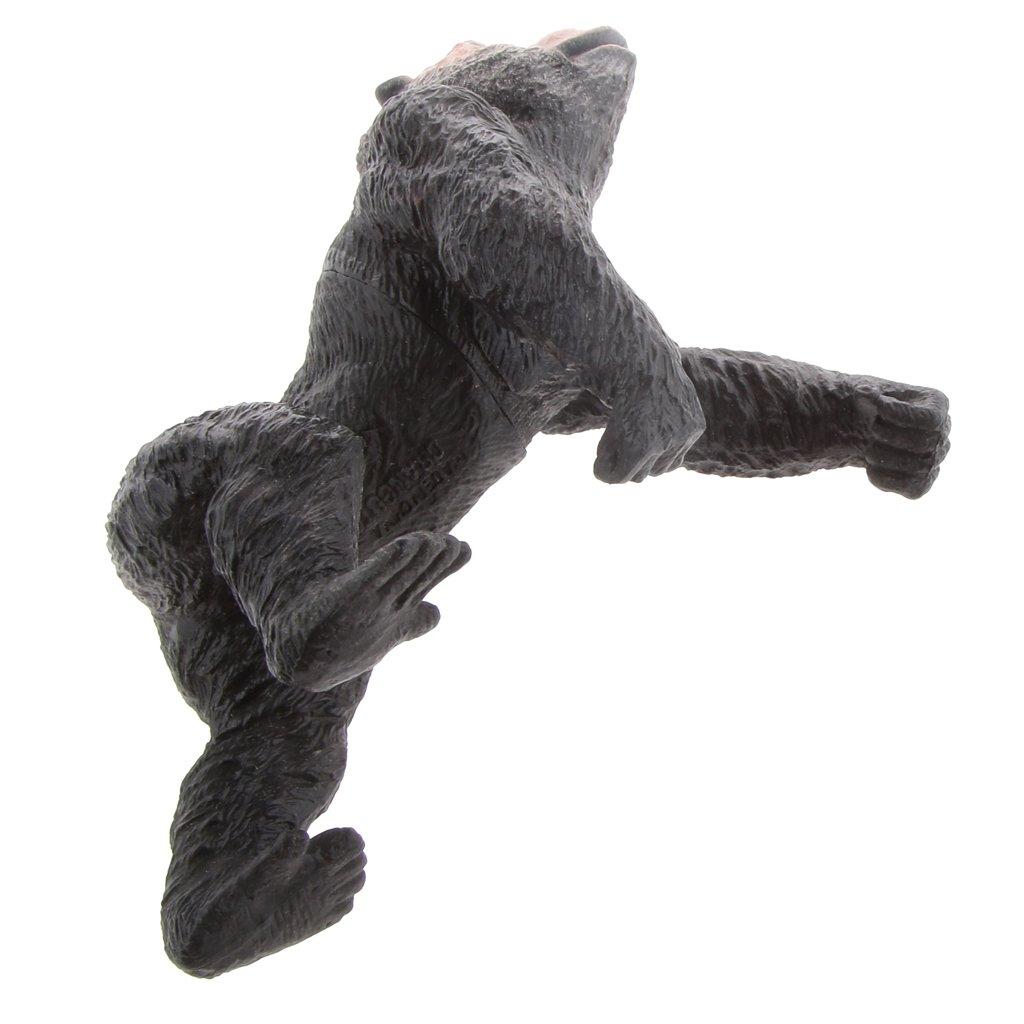 Amazon.com: Baoblaze Lifelike Plastic Jungle Wildlife Animal Toy Realistically Detailed Figures - #8 Gorilla Ape: Toys & Games