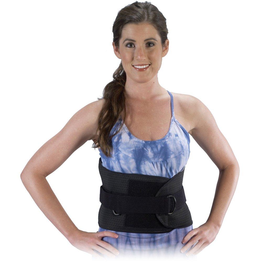 Bilt-Rite Mastex Health Lumbo Protech Deluxe Back Support, Black, X-Large