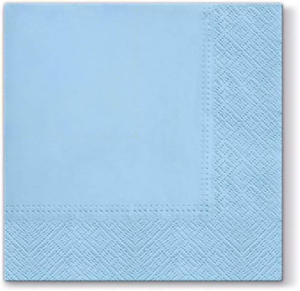 Black Paper Napkins Quality Decorative Serviettes 3ply 33cm x 33cm Pack of 20