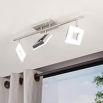 Licht-Trend Sempre Cube drehbarer LED 3er-Deckenspot Strahler ...