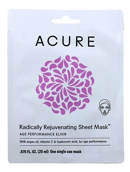 Acure Organics Radically Rejuvenating Sheet Mask 1 Pack