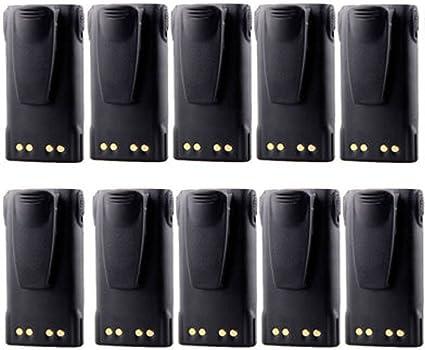 10× 7.4V 1600mAh HNN9013 Battery Pack For Motorola HT750 GP140 GP320 GP340 GP360