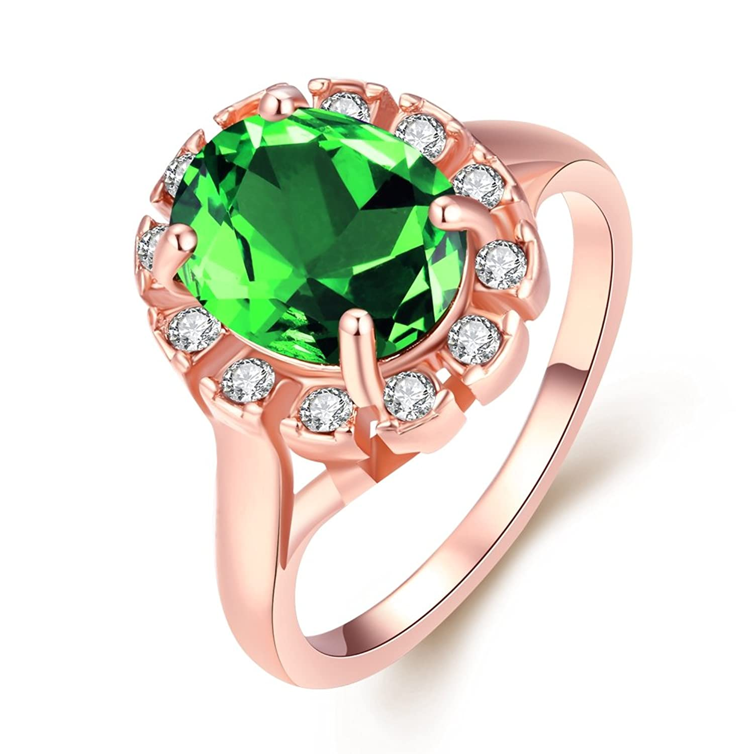 com dp engagement green ring bridal stone amazon diamond rings white peridot three gold