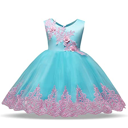 GXYCP Vestido para Niñas Encaje Mariposa Princesa Vestido ...