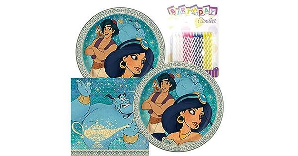 Amazon.com: Aladdin - Paquete de fiesta temática - Incluye ...
