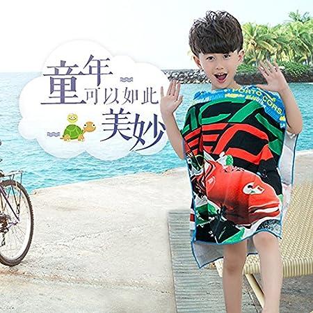 SunJin Childrens manto, manto, manto y cartoon toalla de playa,ladrón de oro,120x60cm: Amazon.es: Hogar