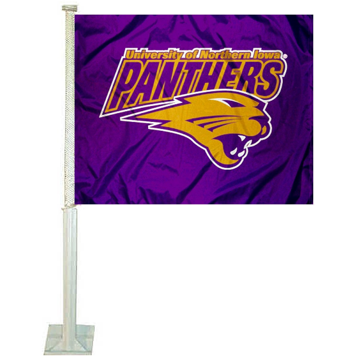 UNI Panthers Car and NCAA Auto Flag College Flags and Banners Co.