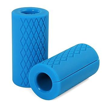 TNP Accessories® Silicona para ejercicios de pesas Grips para bar Gripz – Mancuernas (mm