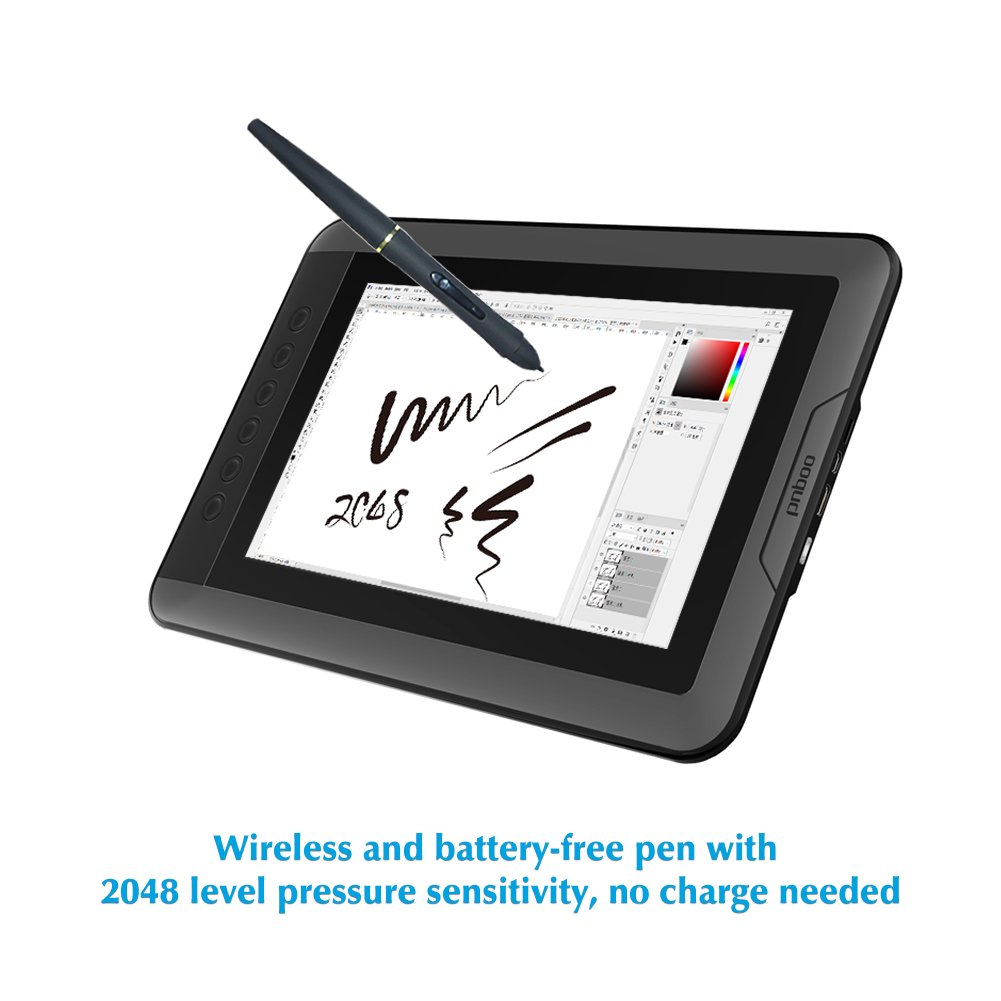 PNBOO PN10 -10.1'' LCD Pen Display Drawing Tablet monitor with Battery-free Passive Pen by PNBOO (Image #3)