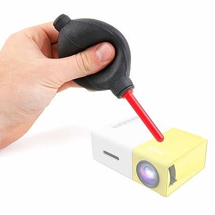DURAGADGET Soplador Limpiador De Lentes para Proyector ...