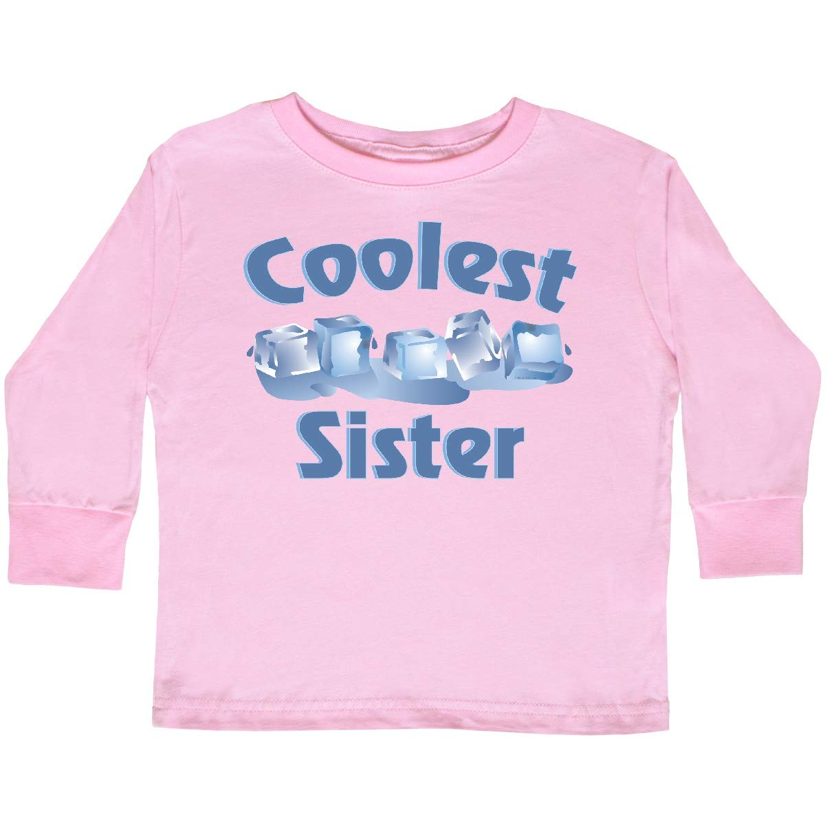 inktastic Coolest Sister Toddler Long Sleeve T-Shirt