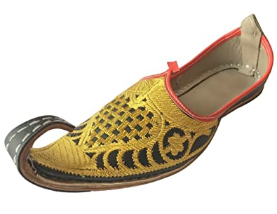 37b57ef4f9a Image Unavailable. Image not available for. Color  Step n Style Aladdin Men  Shoes Khussa Indian Handmade ...