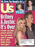 US Weekly Magazine Issue 372, April 1, 2002 Britney Spears and Justin Timberlake; It's Over