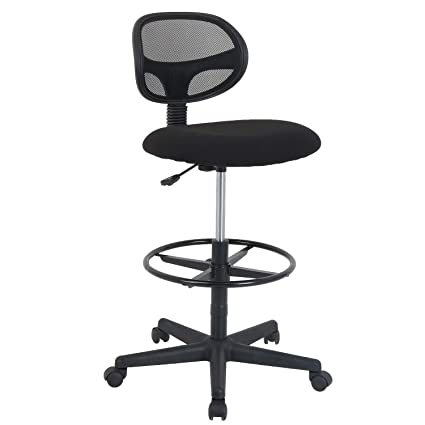 Magnificent Amazon Com Lch Ergonomic Drafting Stool Mesh Back Desk Gmtry Best Dining Table And Chair Ideas Images Gmtryco