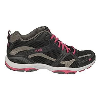 Ryka Women's Enhance 2 Training Shoes Black / Pink / Grey 6 / M and HDO