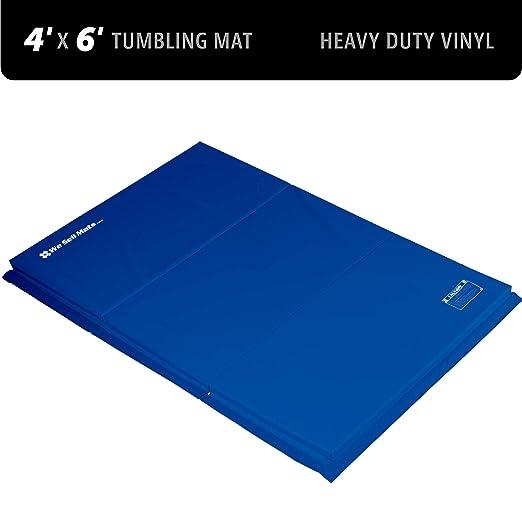 Amazon.com: We Sell Mats Folding Gymnastics Tumbling Panel ...
