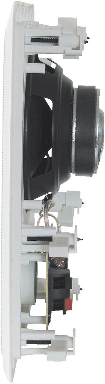 SS8041 Einbaulautsprecher 140 W 8 Ω Wei/ß 1 St.