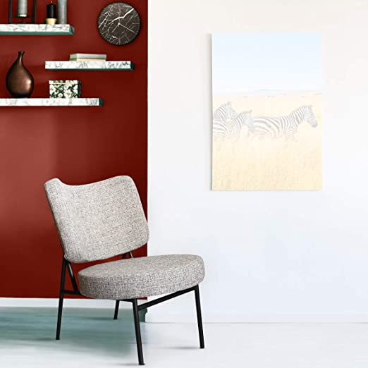 Mc Haus Beige Sillón butaca Salón o Comedor OSHA, Telas, 43,5 x 63 x 76 cm
