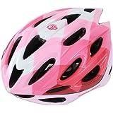 DOPPELGANGER レディース・ガールズ ヘルメット 頭周囲 54-58cm S/Mサイズ CE適合 製品安全基準合格 重量 約265g DHL271 ベンチレーション DHL271-PK